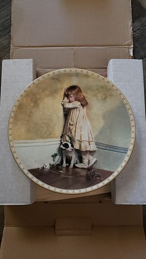 Royal Doulton Collector Plate from A Victorian Childhood, In Disgrace for Sale in Fresno, CA