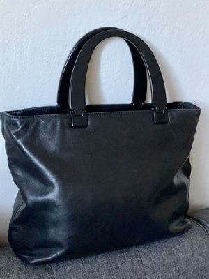 Authentic Vintage Pre-Owned Handbag Black Soft Leather/ for Sale in Mountain View, CA