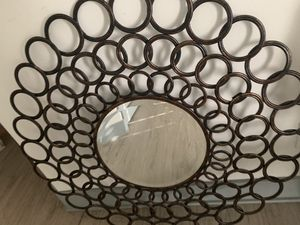Wall art mirror (citi furniture) $85 for Sale in Fort Lauderdale, FL