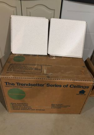 Armstrong Trendsetter ceiling tiles for Sale in Mountville, PA