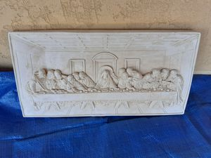 Lords last supper clay artwork for Sale in Huntington Beach, CA