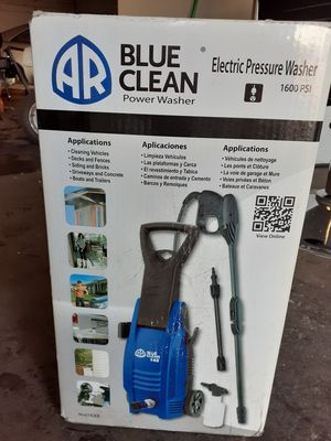 1600 PSI blue clean pressure washer electric for Sale in Baltimore, MD