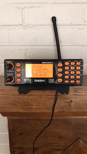 1000 channels digital Scanner for Sale in Knoxville, TN