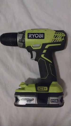 Ryobi one+ 18V power drill for Sale in Tallahassee, FL