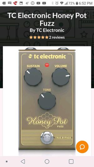 Honey pot fuzz tc electronic (brand new) for Sale in Chicago, IL