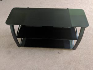Glass TV Stand With Shelves. for Sale in Richmond, VA