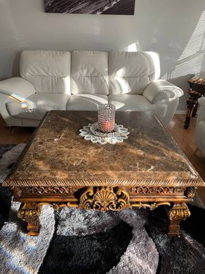 !!!Extravagant Marble Top Living Room Table Set!!! for Sale in St. Louis, MO