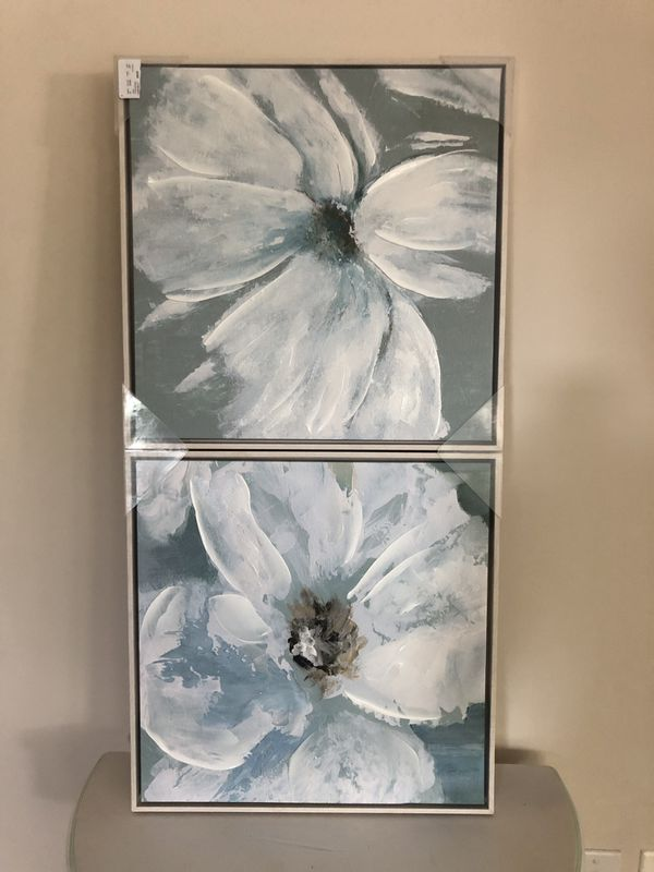 Pier 1 NEW Flower Painting Set
