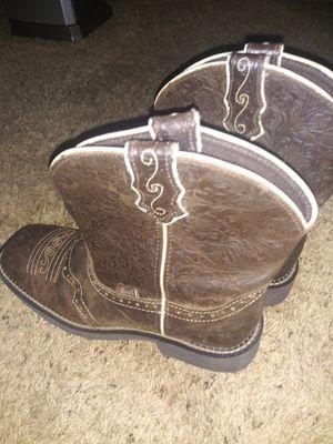 Justin Boots for Sale in Wichita, KS
