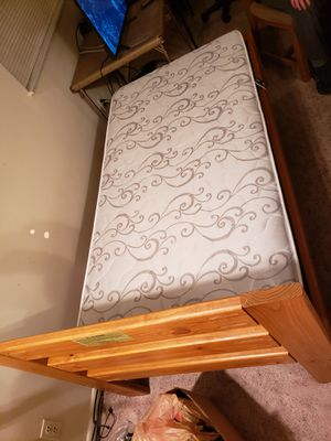 Twin Bed Frame & Mattress for Sale in Dayton, OH