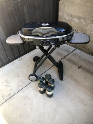 Coleman Gas Barbeque Grill - fold away for Sale in Diamond Bar, CA