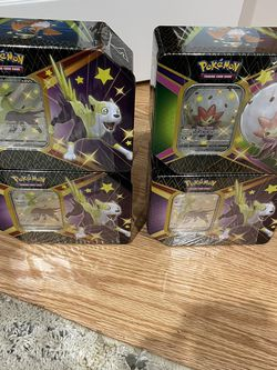 Pokemon Shining Fates Tins Brand New Factory Sealed for Sale in North Bend,  WA