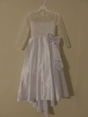 White Flower Girl Dress or Mini wedding dress for Sale in Raleigh, NC