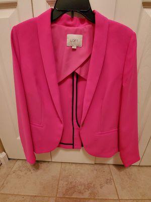 Hot pink LOFT blazer for Sale in Chesapeake, VA