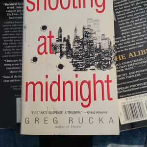 Shooting At Midnight, Greg Rucka, Paperback for Sale in Auburn, WA