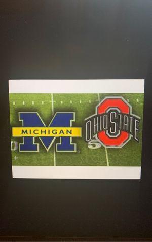 Ohio State v University of Michigan Football Game for Sale in Ann Arbor, MI