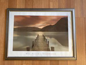 Framed Lake Photo for Sale in San Carlos, CA
