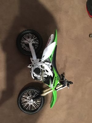 Kawasaki toy dirt bike for Sale in Denver, CO