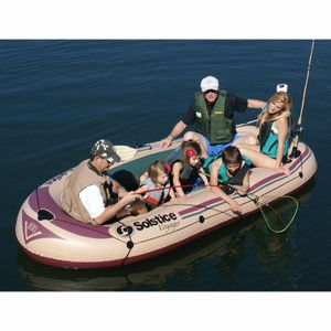 Inflatable 6 Person fishing boat for Sale in Montebello, CA