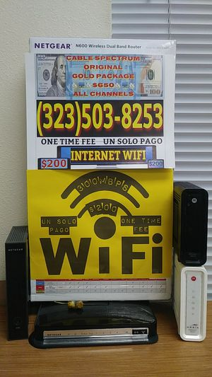 Internet modem Wi-Fi for Sale in Los Angeles, CA