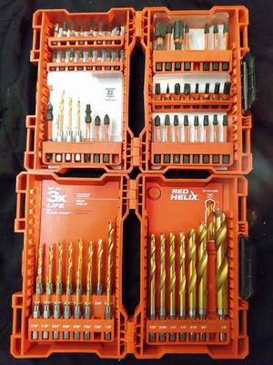 Milwaukee Drill Bits for Sale in South Gate, CA