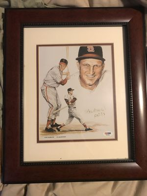 Stan Musial auto PSA/DNA for Sale in Marysville, WA