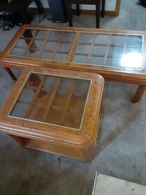 Coffee table and end table for Sale in McPherson, KS