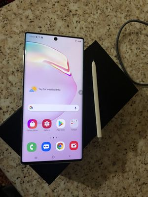 Samsung Galaxy note10+ unlock(desbloqudo) for all company T-Mobile metro cricket at&t Verizon sprintboost Mexico Africa Asia Europe Latin America for Sale in Glendale, AZ