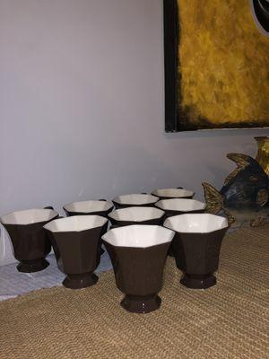 NIKKO Octagon tea/coffee cups set of 9 for Sale in West Monroe, LA