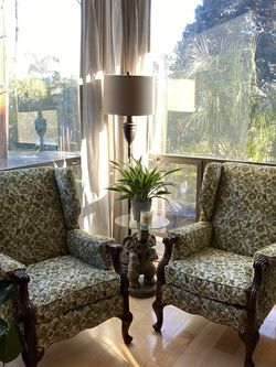 Vintage Wingback Armchairs for Sale in Los Angeles,  CA