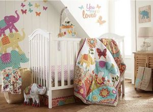 Zahara elephant Crib set for Sale in Tampa, FL