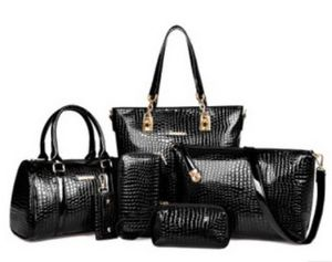 Luxury 6 set bag | Patent Leather design for Sale in Little Rock, AR