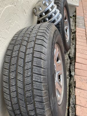 Dodge Ram 2500 one rims & tires balanced with tpms sensors for Sale in Boca Raton, FL