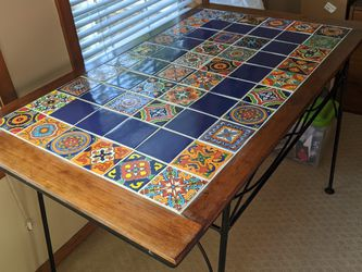Hand Made Tile Table for Sale in Seattle,  WA