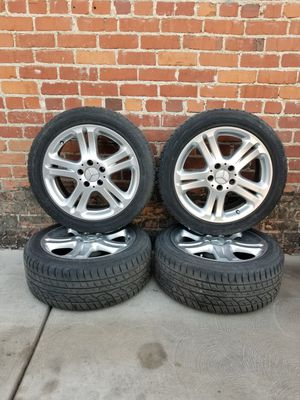 Mercedes Stock Wheels 17 inch for Sale in Fresno, CA