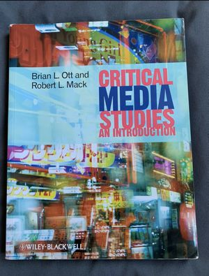 Critical Media Studies for Sale in Pacifica, CA