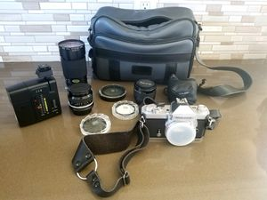 Nikon Nikkormat FT3 plus accessories for Sale in San Diego, CA