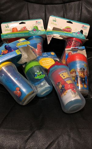Boys sippy cups for Sale in Poway, CA