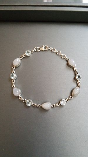 Moonstone and semiprecious bracelet for Sale in St. Louis, MO