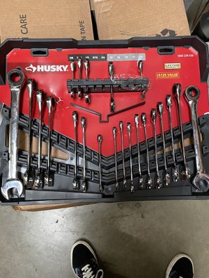 Husky SAE/MM Ratcheting Wrench Set with Stubby (30-Piece) for Sale in Temple City, CA