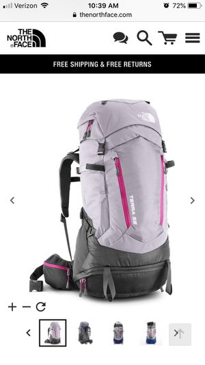 Backpack, North Face, Women's Terra 55 for Sale in San Francisco, CA