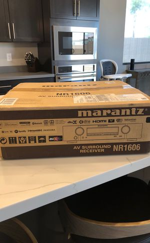 Marantz Slim AV Surround Receiver NR 1606 for Sale in Scottsdale, AZ
