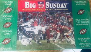 Big Sunday football board game for Sale in Las Vegas, NV