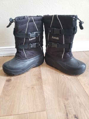 Kamik snow boots for kids for Sale in Puyallup, WA