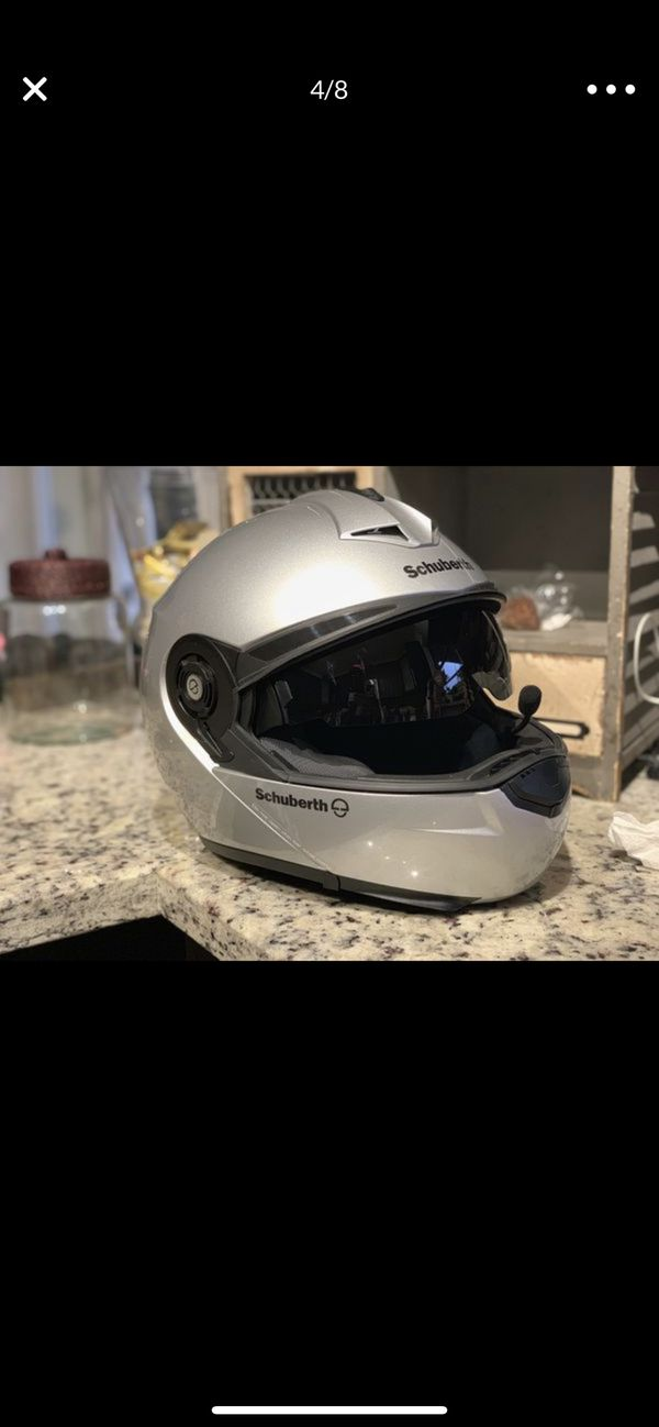 Bmw helmet motorcycle with communication system