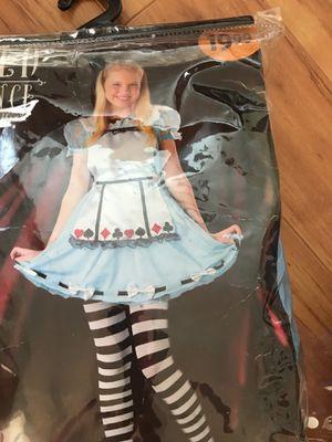 Alice in Wonderland Costume Halloween tween girls 12-14 for Sale in Palm Harbor, FL