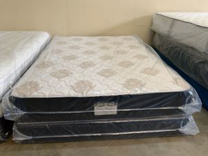 New queen orthopedic medium feel mattress and box spring for Sale in Altamonte Springs, FL