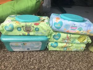 Pampers and Huggies wipes $10 each set for Sale in Chesapeake, VA