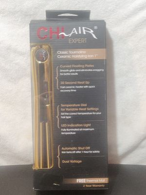 "Chi Air Expert Ceramic Hair Styling Iron 1"" Hair Straightener for Sale in HUNTINGTN BCH, CA"