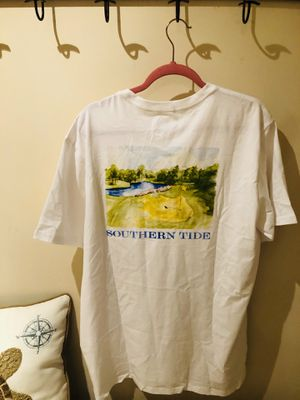 $39 Southern Tide Golf Course Short Sleeve T-Shirt Men Size XL for Sale in Dumfries, VA